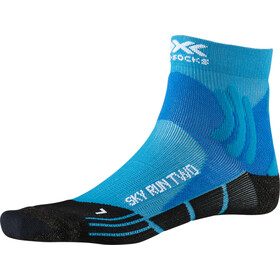 X-Socks Sky Run Two Løpesokker Herre teal blue/opal black